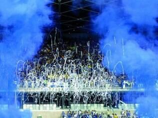 Boas lembranças.  O último jogo do Cruzeiro no Mineirão foi marcado pela festa da conquista do tetracampeonato brasileiro