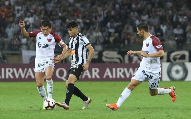Atlético-MG foi eliminado pelo Colón na Copa Sul-Americana