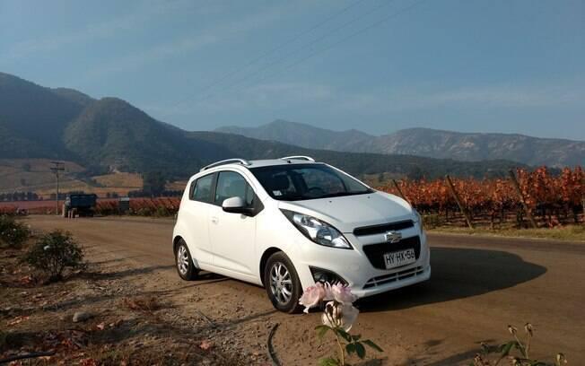 Chevrolet Spark GT:  um dos carros mais vendidos do mercado no Chile no ano passado. Tem motor 1.2 e preço acessível