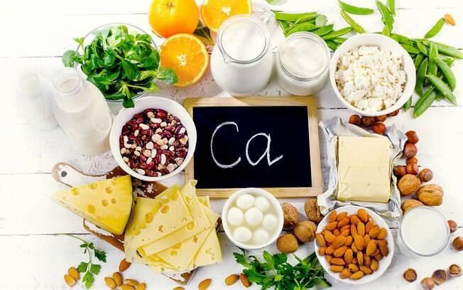 Sais minerais essenciais: o cálcio é essencial para musculatura, ossos, nervos e até mesmo para a circulação sanguínea