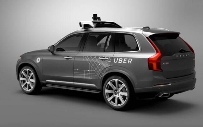 Volvo XC90: Uber compra 24 mil Volvos XC90 para expandir frota autônoma