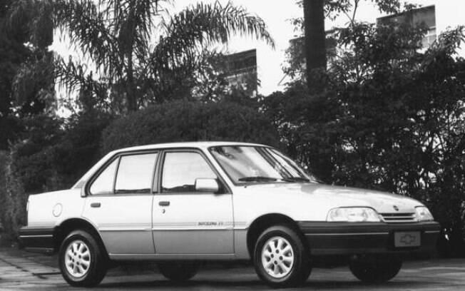 GM Monza Barcelona tinha rodas exclusivas que foram usadas na versão SL/E posteriormente