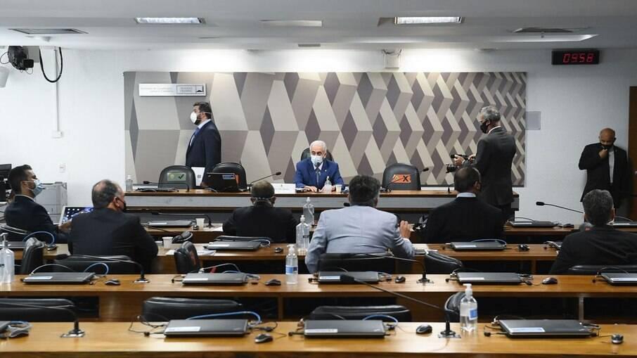 Primeira sessão da CPI