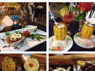 No bistrô Donna Flor, pratos, drinques e sobremesas ganham bela apresentação visual