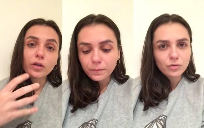 Monica Iozzi desabafa nas redes sociais