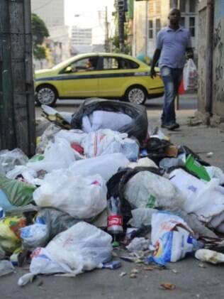 Garis também já protestaram no Rio de Janeiro