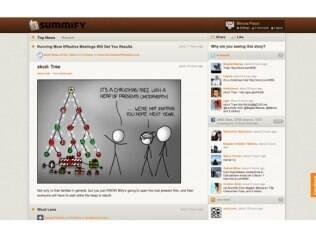 Serviço Summify agrega conteúdo mais relevante nas redes sociais