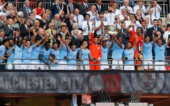 Manchester City campeão da Supercopa da Inglaterra de 2018