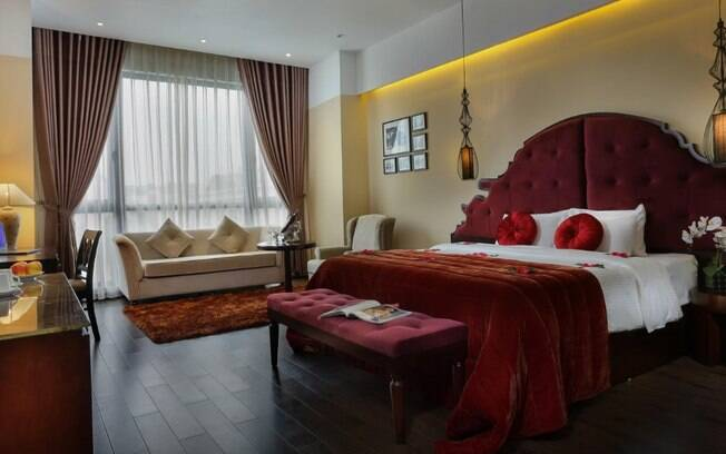 O Viroth's Hotel, em Siem Reap, também em Camboja, conta com uma das diárias mais baratas da lista