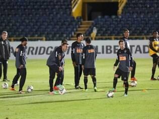Para atacante Jô, gramado do estádio é um dos melhores no qual o time irá jogar