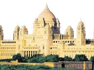 Umaid Bhawan, outro hotel do grupo Tata, que fica na Índia