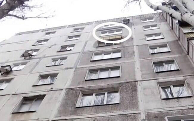 Homem se jogou do oitavo andar do edifício; avós da vítima moram no local