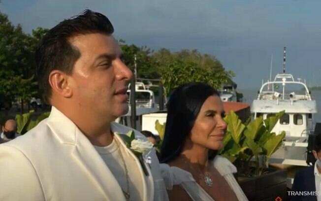 Gretchen e Esdras se casam