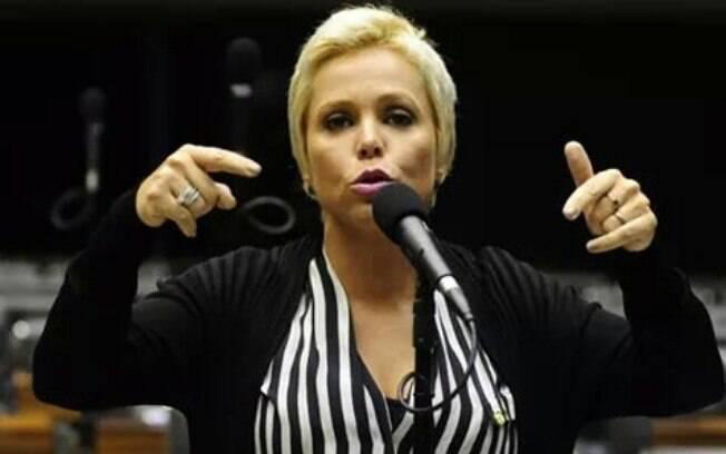 A deputada federal Cristiane Brasil: