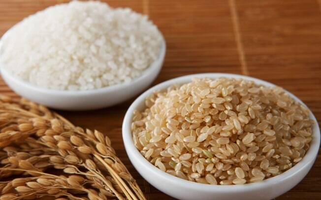 Arroz: o integral tem mais fibras, proteínas e vitamina B do que o branco
