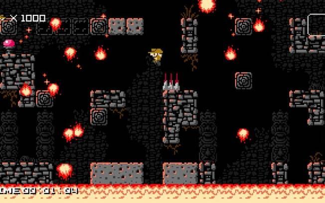 Terça-feira (3) - 1001 Spikes - PC, PS4, PS Vita (via PSN), Wii U