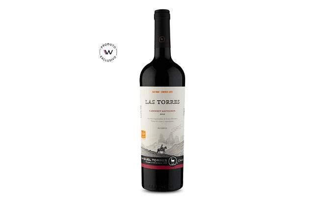 O Las Torres é um vinho chileno produzido com a uva Cabernet Sauvignon