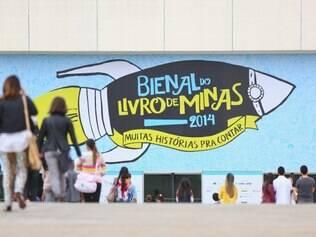 Cidades - Do dia - Belo Horizonte MG Bienal do Livro de Minas promove o evento cafe literario com Gregorio Duvivier e Adriana Calcanhoto  FOTO: MARIELA GUIMARAES / O TEMPO  15.11.14