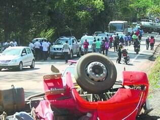 MG. De janeiro a setembro, 6.263 acidentes com caminhões mataram 118 pessoas e feriram 1.233 em BRs