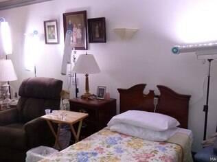 Pesquisadora brasileiro aumentou iluminação em quartos de idosos