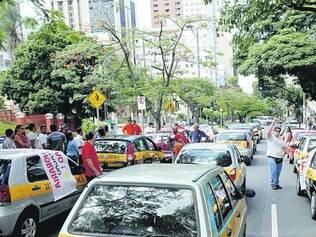 Queixa. Centros de formação de condutores fizeram vários protestos neste ano contra a obrigatoriedade