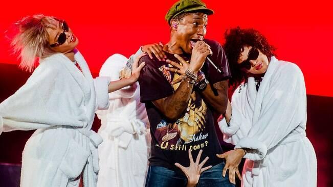 Smashing Pumpkins e Pharrell encerram o Lolla