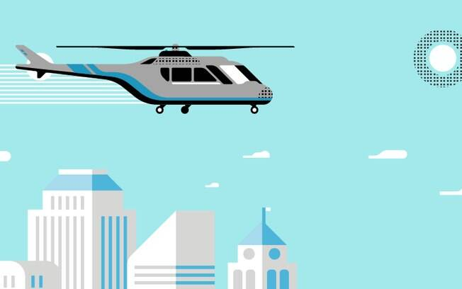 Aplicativo oferece quatro aeroportos e cinco helipontos na região metropolitana