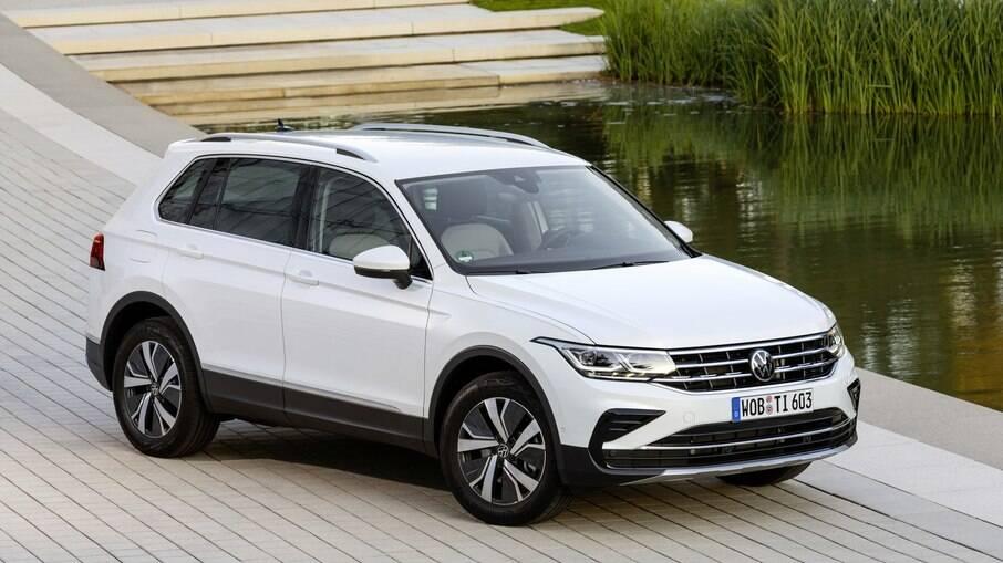 Feito na Alemanha, VW Tiguan eHybrid é alternativa para o mercado de SUVs médios híbridos contra o Toyota RAV4