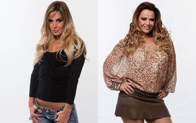 Robertha Portella e Viviane Araújo escaparam da Roça graças ao poder da chave