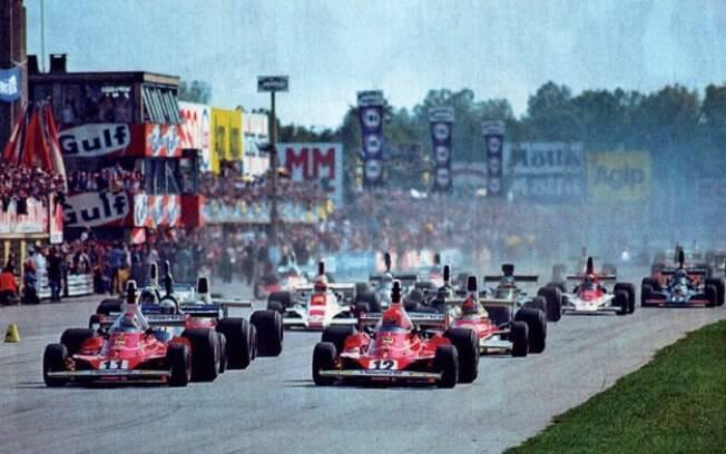 Emerson Fittipaldi disputou a liderança do GP de Monza com Clay Regazzoni e Niki Lauda.