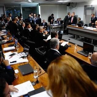 Sabatina de Luiz Edson Fachin na Comissão de Constituição e Justiça (CCJ) do Senado