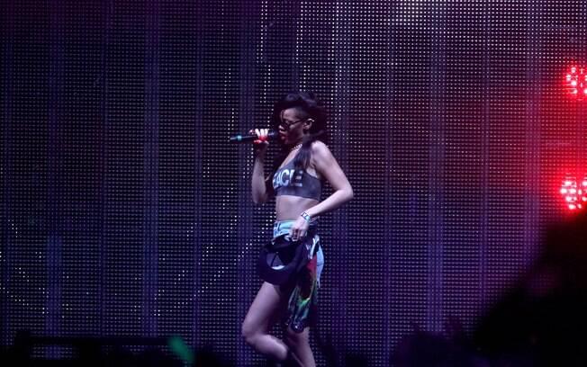 Rihanna descreveu em seu Twitter a noite como