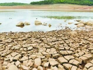 Volume.  Represa Serra Azul, em Juatuba, é uma das que abastecem a região metropolitana de BH