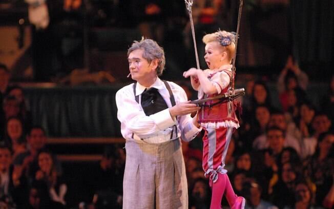Serginho Groisman se torna integrante do Cirque Du Soleil por um dia