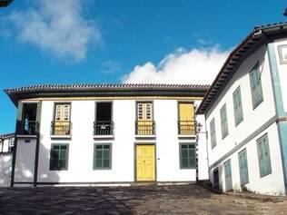 Casarão onde viveu, entre 1763 e 1771, Xica da Silva, a filha ilustre de Diamantina