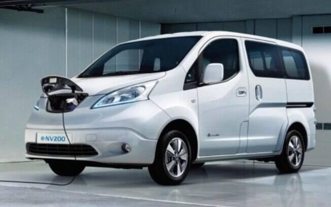 A Nissan e-NV200 é uma das van compactas modernas com uma versão totalmente elétrica e inteligente