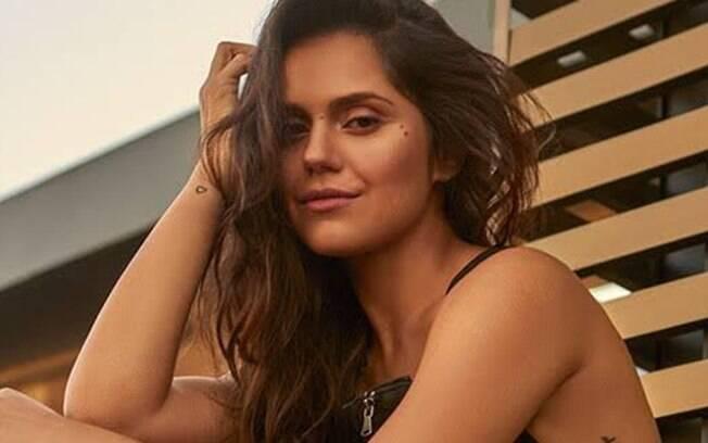 Jessika Alves faz uma live com o iG nesta segunda-feira