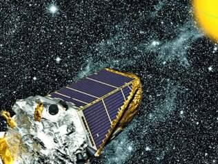 Monitoramento. O satélite Kepler passou quatro anos monitorando cerca de 150 mil estrelas