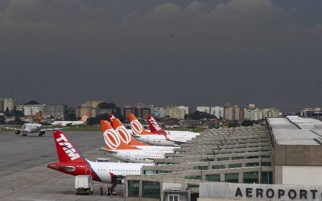 Infraero revela baixa de 41% em relação a circulação dentro dos aeroportos