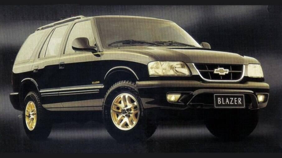 Chevrolet Blazer Executive: SUV de respeito que bombou com a classe média alta no Brasil dos anos 90