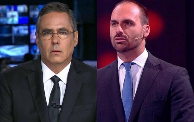 Fabio Panunnzio e Eduardo Bolsonaro