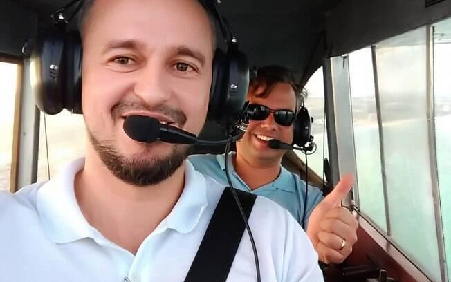 Pilotos que estavam com Gabriel Diniz