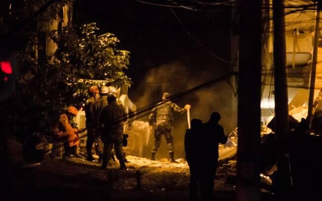 Prédios clandestinos desabaram na comunidade da Muzema, no Rio de Janeiro