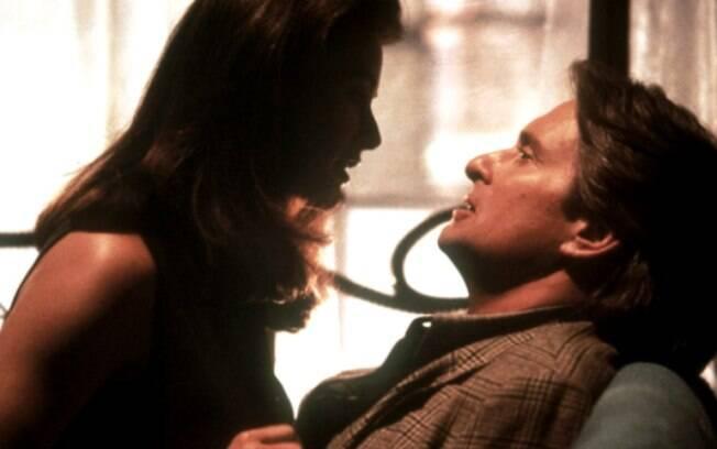 Meredith Johnson, interpretada por Demi Moore, era a chefe que dava em cima do subordinado em