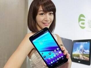 Tablet da Acer também faz ligações