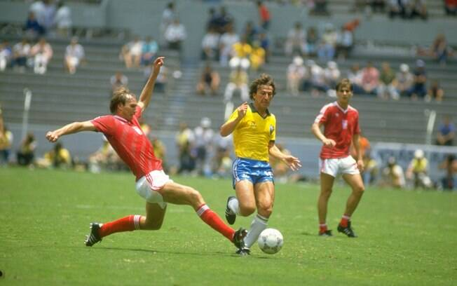 Zico na seleção brasileira