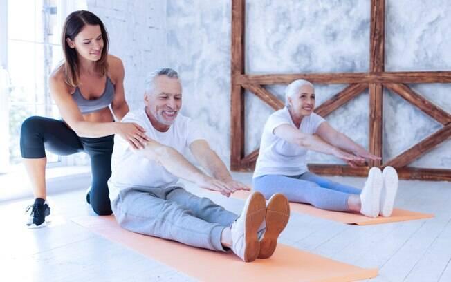 Os idosos estão buscando mais por exercícios físicos e, para isso, é preciso ter claro que o treino deve ser diferenciado