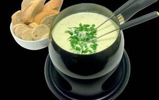 Fondue de queijo saudável