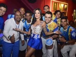 Com Aline Riscado, a Caprichosos de Pilares será uma das escolas a desfilar no Carnaval no Rio