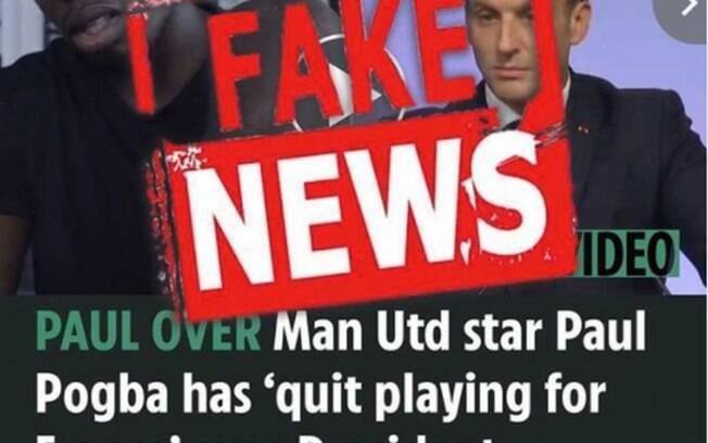 Pogba se irrita e critica jornal inglês: 'Notícia 100% infundada'